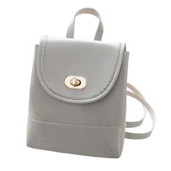 Женский рюкзак, серый П2480