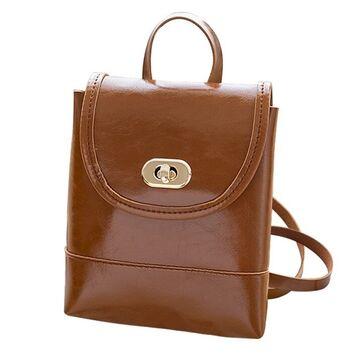 Женский рюкзак, коричневый П2747