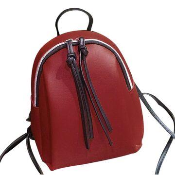 Женский рюкзак, красный П2748