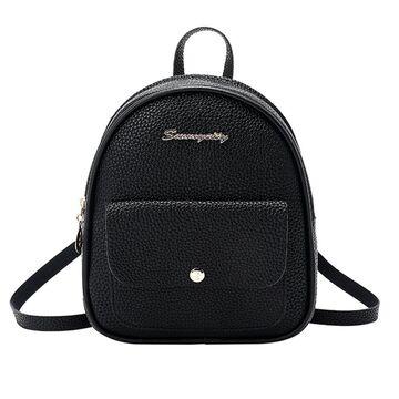 Женский рюкзак, черный П2489