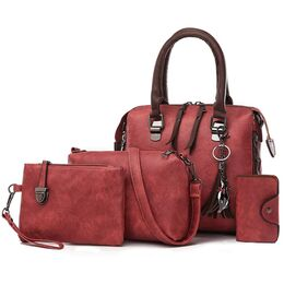 Женская сумка+клатч+кошелек+визитница SMOOZA, П2502