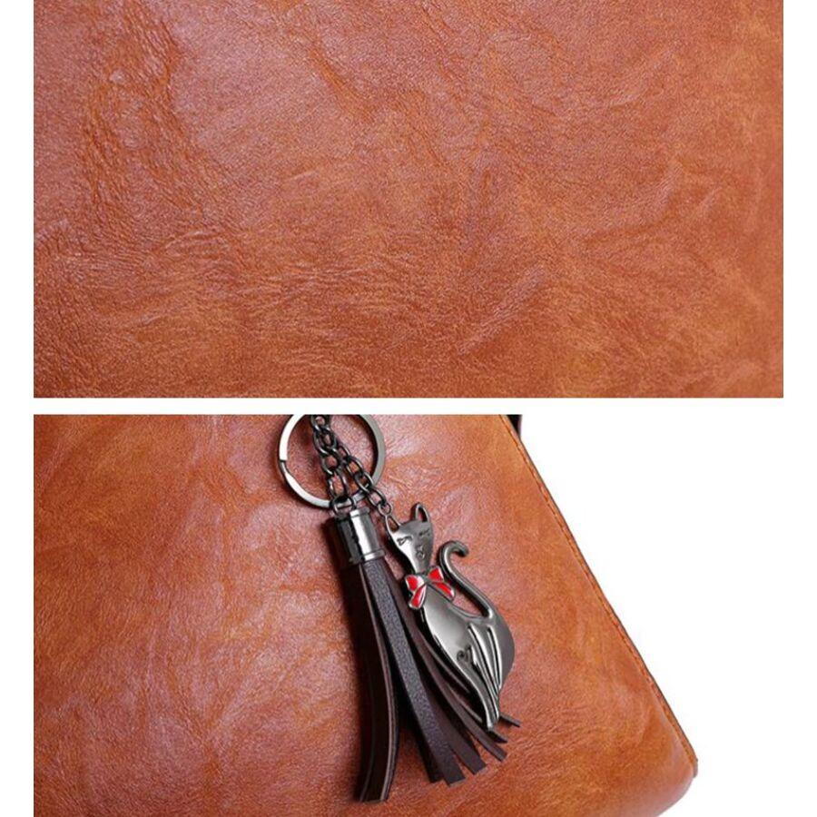 Женские сумки - Женская сумка+клатч+кошелек+визитница SMOOZA, П2502