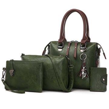 Женская сумка+клатч+кошелек+визитница SMOOZA, П2503