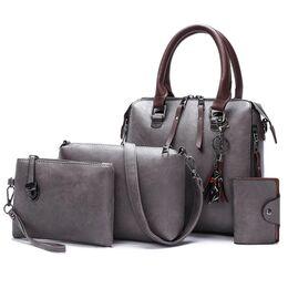 Женская сумка+клатч+кошелек+визитница SMOOZA, П2504