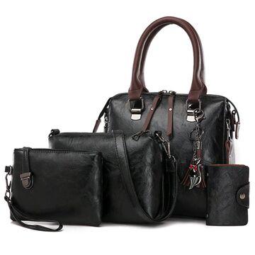 Женская сумка+клатч+кошелек+визитница SMOOZA, П2505