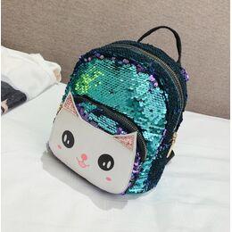 """Детский рюкзак """"Cartoon Cat"""", зеленый 2525"""