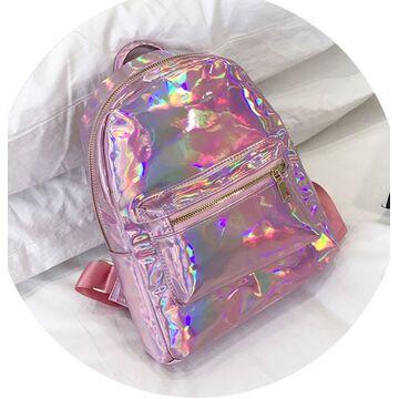 Женский рюкзак, розовый П2528