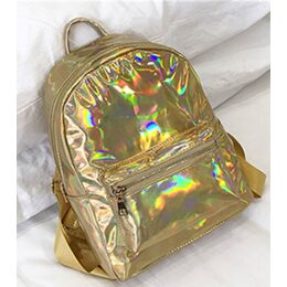 Женский рюкзак, золото П2529