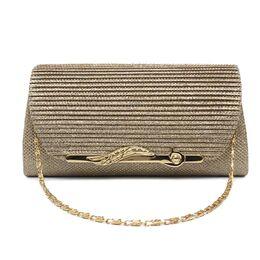 Женская сумка-клатч, золотая 0160