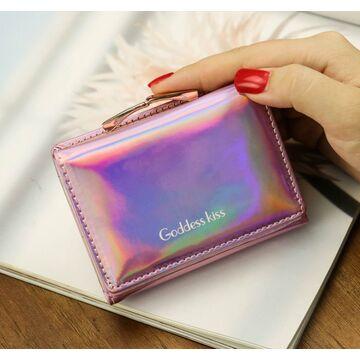 Женский кошелек, розовый П2532