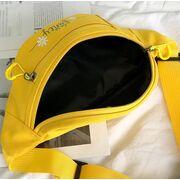 Поясные сумки - Женская бананка, сумка на пояс, желтая П2546