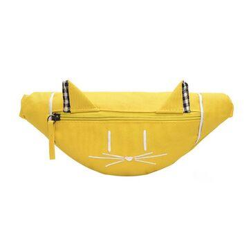 Детская сумка банан, желтая П2554