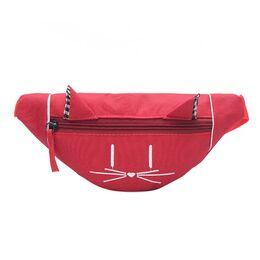 Детская сумка банан, красная П2555
