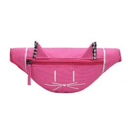 Детская сумка банан, розовая 2557