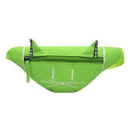 Детская сумка банан, зеленая 2559