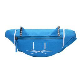 Детская сумка банан, голубая 2560