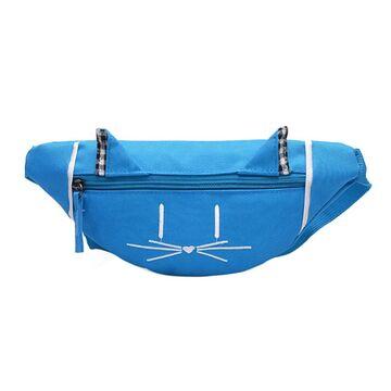 Детская сумка банан, голубая П2560