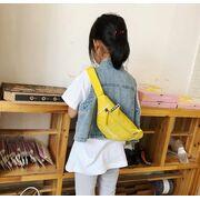 Поясные сумки - Детская сумка банан, черная П2561