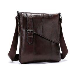 """Мужская сумка """"WESTAL"""", коричневая 2576"""