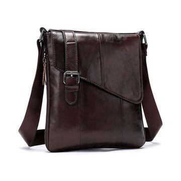 """Мужская сумка """"WESTAL"""", коричневая П2576"""