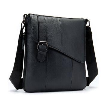 """Мужская сумка """"WESTAL"""", черная П2577"""