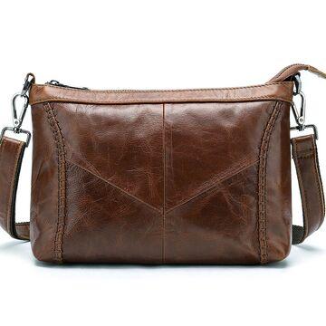 """Женская сумка """"WESTAL"""", коричневая П2582"""