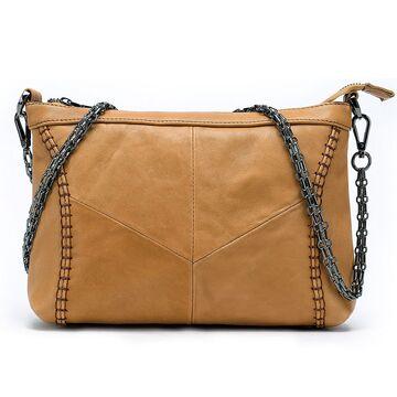 """Женская сумка """"WESTAL"""", коричневая П2583"""