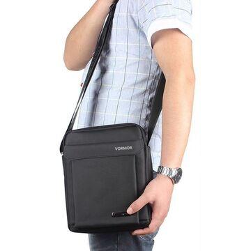 Мужская сумка VORMOR, черная  П2585