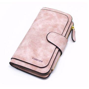 Женский кошелек, розовый П0167