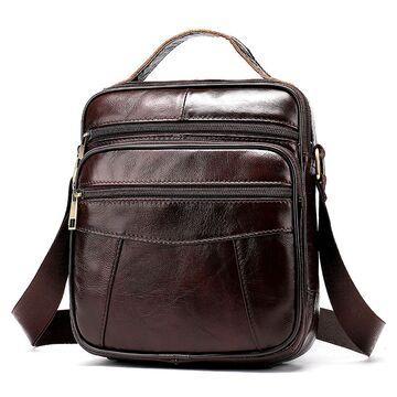 """Мужская сумка """"WESTAL"""", коричневая П2596"""