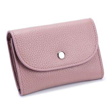 Женский мини кошелек, розовый П2604