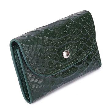 Женский мини кошелек, зеленый П2606
