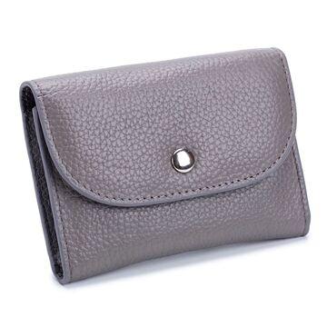Женский мини кошелек, серый П2608