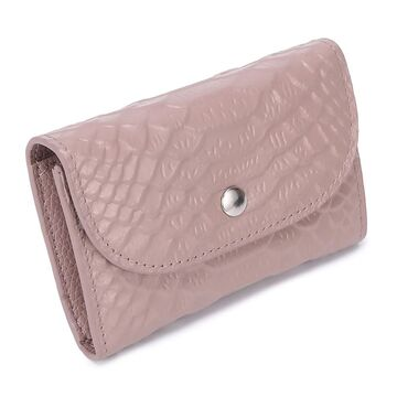 Женский мини кошелек, розовый П2609