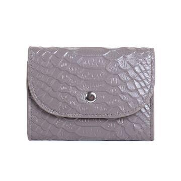 Женский мини кошелек, серый П2610
