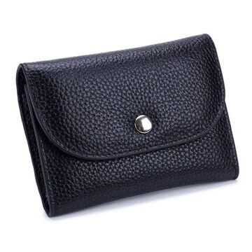 Женский мини кошелек, черный П2611