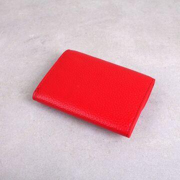 Женский мини кошелек, красный П2612