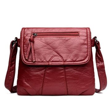 Женская сумка REPRCLA, красная П2617