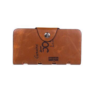 Мужской кошелек, коричневый П2619