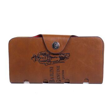 Мужской кошелек, коричневый П2620