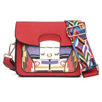 Женская сумка ACELURE, красная П2624
