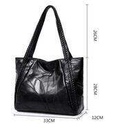 Женские сумки - Женская сумка SMOOZA, черная П2639