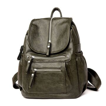 Женский рюкзак, зеленый П2643