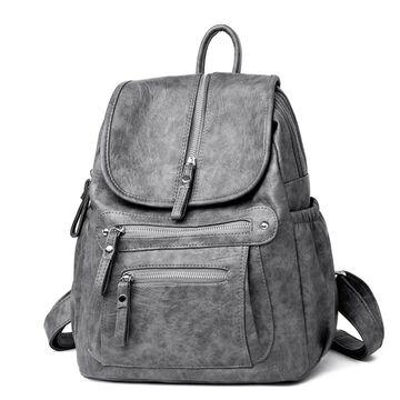Женский рюкзак, серый П2644