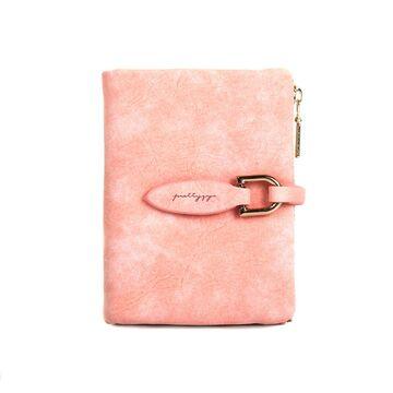 Женский кошелек, розовый П0172