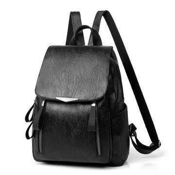 Рюкзак женский, черный П2645