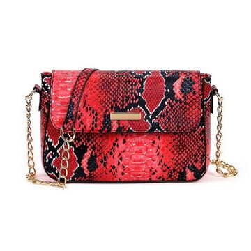 Женская сумка FUNMARDI, красная П2647