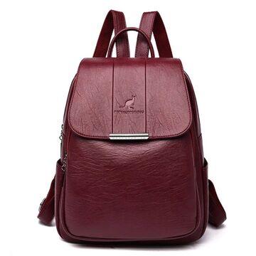 Женский рюкзак PHTESS , красный П2650
