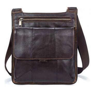 """Мужская сумка """"WESTAL"""", коричневая П2651"""