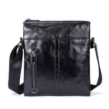 """Мужская сумка """"WESTAL"""", черная П2653"""